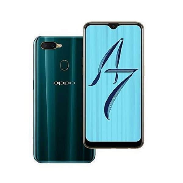Oppo A7 Green