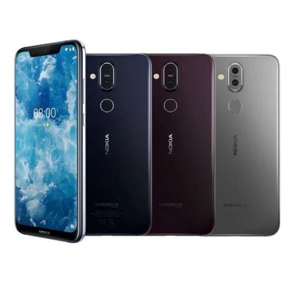 Nokia 8.1 colors