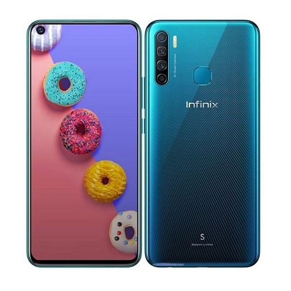 Infinix S5 Blue