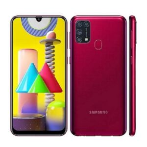 Samsung Galaxy M31 Red