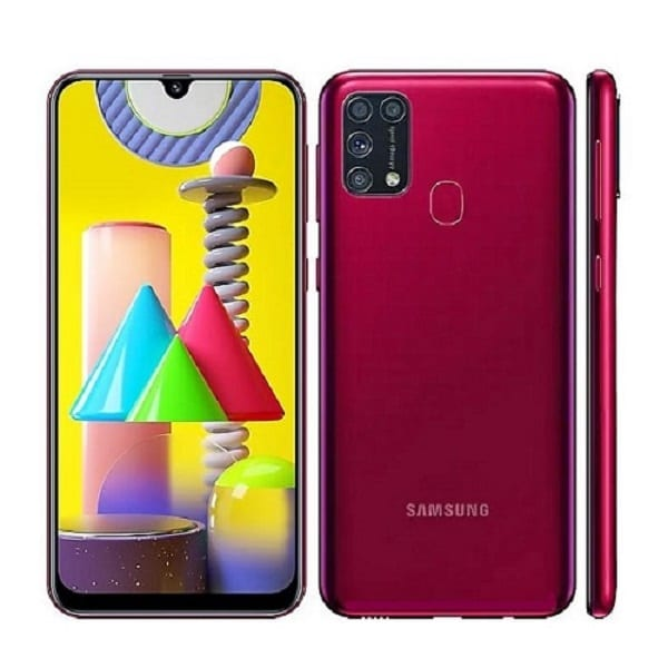Samsung Galaxy M31 Red